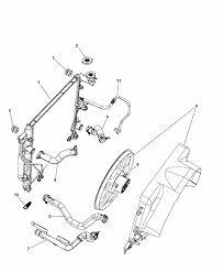 Hose radiator outlet dodge nitro car parts 2007 dodge nitro radiator related parts diagram i2171780