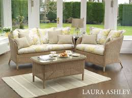 laura ashley arley arley snuggler chair sofa coffee table harvest brown wash main fabric millwood camomille ter cushions dalton natural
