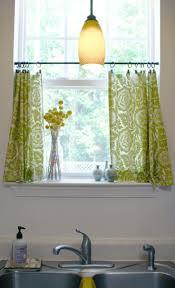 Modern Kitchen Curtains best 25 tension rod curtains ideas kitchen 4893 by uwakikaiketsu.us