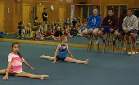 floor gymnastics splits. Splits Contest Floor Gymnastics O