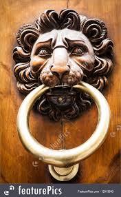 Picture Of Lion Head Door Knocker