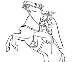 Disegni Da Colorare Zorro La Leggenda Mamme Magazine