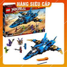 Hàng Cao Cấp] LEGO® NINJAGO Máy Bay Chiến Đấu Bão Táp Của Jay 70668 giảm  chỉ còn 2,978,000 đ