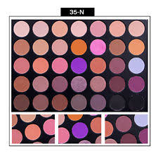 35 colors shimmer matte eye shadow eyeshadow palette pro cosmetic makeup tool colorful b