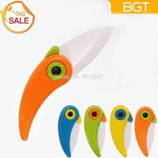 New Kitchen Gift 2016 New Mini Bird Ceramic Knife Gift Knife Pocket Ceramic Folding