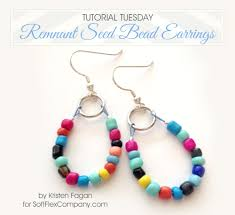 Beaded Earring Patterns For Beginners Magnificent Design