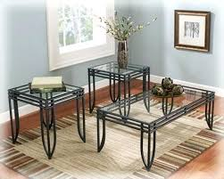 black metal and glass coffee table glass end tables and coffee tables an ultra modern clear angled glass media side table which glass coffee table black