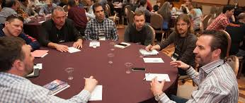 roundtable break out sessions are intimate moderated group discourses where attendees can discuss amongst rs a variety of topics important to the
