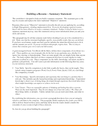 What To Write In A Resume Summary Writing Summary For Resume How To