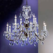 dining room inspiring classic traditional chandelier atn2353 12 light pellucid crystal of oil rubbed bronze