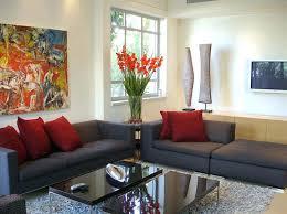 interior furniture photos. Interior Design Cheap Room Designs Modern Furniture Living White Brown Fabric Sofa With Cushions Photos U