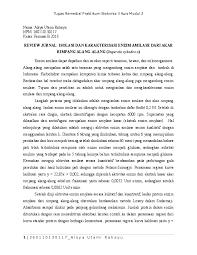 We did not find results for: Doc Review Jurnal Isolasi Dan Karakterisasi Enzim Amilase Dari Akar Rimpang Alang Alang Imperata Cylindrica Alsya Rahayu Academia Edu