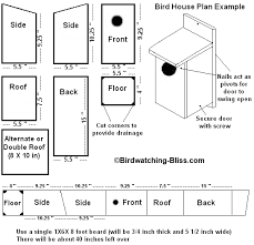 Birdhouse Patterns Magnificent Free Bird House Plans Bluebird Purple Martin Wren More