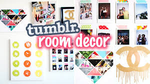 diy tumblr pinterest inspired room decor laurdiy youtube