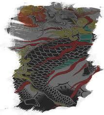 андрей косимин тату в японском стиле