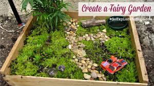 fun friday create a fairy garden