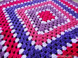 Easy Crochet Granny Squares Free Patterns Stunning Fiber Flux Free Crochet PatternBerry Season Blanket