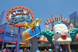 com Studios Universal Ride The Simpsons Hollywood Laexcites
