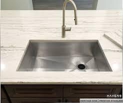 Heritage Stainless Undermount Sink Prestige Havens Metal