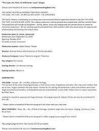 Casting Director Resume