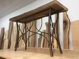 ohiowoodlands console table base steel