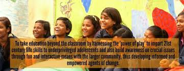 project khel taking education beyond the classroom
