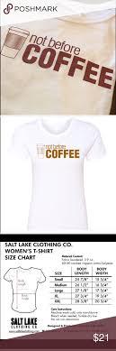 Hsn Size Chart Not Before Coffee Graphic Tee Ladies White Boyfriend Tee 60