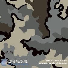 Kuiu Camo Patterns Amazing KUIU Vias 4848 Hydrographic Film WTP48 Only At TWN Industries