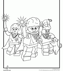 Small Picture Harry Potter Coloring Page Lego Harry Potter Coloring Page Free