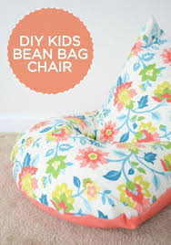For basement reading/play area- DIY: Sew a kid's beanbag chair in 30  minutes!-- my kids love this style of bean bag! I can't believe this sewing  pattern is ...