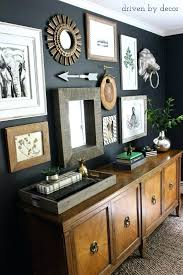 home office dark blue gallery wall. Home Office Wall Decor How To Create A Gallery Tips My Art . Dark Blue