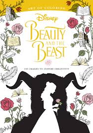 Small Picture Book Review Art of Coloring Beauty and the Beast