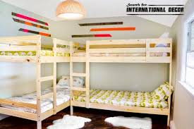 Impressive Bunk Beds For Small Rooms Classic Bunk Beds Small Childs Room  795530 Space Saving