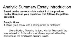 writing portfolio mr butner ppt video online analytic summary essay introduction