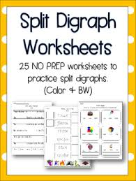 250 free phonics worksheets covering all 44 sounds, reading, spelling, sight words and sentences! Split Digraph Worksheets Teaching Resources Teachers Pay Teachers