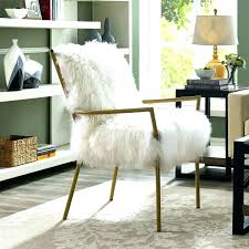 faux fur chair cover fur office chair desk chair covers several images on fuzzy office chair