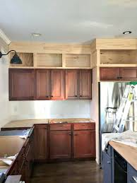 42 inch kitchen cabinets 8 foot ceiling