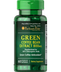 green coffee bean extract with svetol 800 mg
