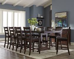 holbrook antique counter height extendable dining room set1697067
