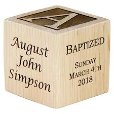 personalized baby baptism gifts baptism gift for boy baptism wood block