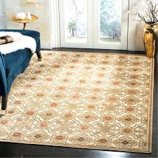 imperial palace taupe cream area rug martha stewart rugs kmart