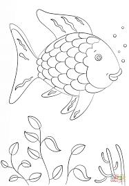 Rainbow Fish Super Coloring Arts And Crafts Rainbow Fish