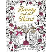 Small Picture Beauty and the Beast A Coloring Book With Quotations From The