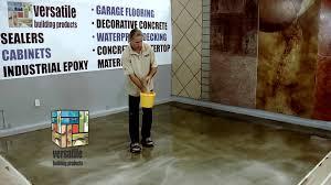 Decorative Concrete Overlay Stamped Concrete Overlay Decorative Concrete Training How To