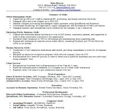 Computer Skills Resume Example Template Magnificent Computer Skills On Resume Examples Skills Resume Samples Free Sample