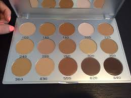 kryolan 19115 mfc hd micro foundation cream palette 15 colors face makeup new