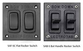 rocker switch products lectrotab electromechanical trim tab rocker switch