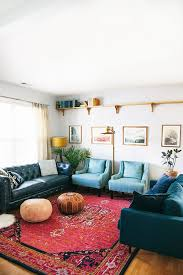 bohemian living room rug