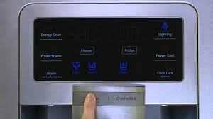 Refrigerator Ice Maker Filter Samsung Refrigerator Troubleshooting Controlling Display Youtube