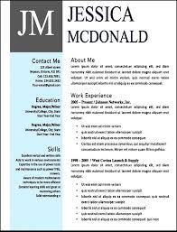 Modern Resume Templates Free Word - Fast.lunchrock.co